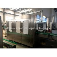 China Automatic 5l Plastic Bottle Washing Filling Capping Machine , Complete Mineral Water Plant on sale