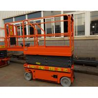 Motorized Mobile Electric Work Platform Lifts Self Leveling Scissor Lift Manufactures