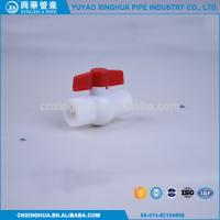 Quality Light Weight PPR Ball Valve , Pvc Pipe Fittings Convenient Installation for sale