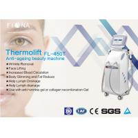 Professional Wrinkle Remover Machine For Face , Fractional Rf Machine 60HZ Manufactures