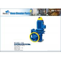 NV41G-110 Geared VVVF Elevator Traction Machine Motor Elevators Components for Lifts Manufactures