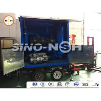 Waterproof Transformer Oil Filtration Machine Vacuum Oil Cleaning Equipment For Insulating Oils Manufactures