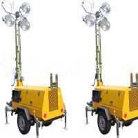 Light Tower Sales: MO-5659 Automatic Mobile Light Tower For Sale Of