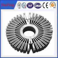 Wow!!Sunflower/rectangle aluminum heatsink, round aluminium car radiator Manufactures