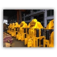 Yellow Electric Vibro DZ-45A Pile Foundation Construction Equipment Manufactures