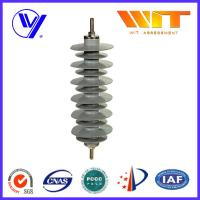 Quality MOA Type Lightning Surge Arrester Silicon Rubber Material ISO-9001 Certified for sale