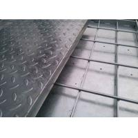China 15-W-4 Compound Steel Grating / Stainless Steel Mesh Grate With Checker Plate on sale