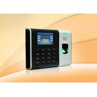 Biometric access control  fingerprint attendance management system With Web server 110 / 220V Manufactures