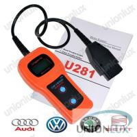 U281 Audi Skoda Seat VAG Diagnostic Tool For Reading , Erasing Trouble Code Manufactures