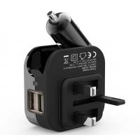 China 5V 2.1A Multifunction Phone Charger 210mAh Battery Capacity UL BS Certificated on sale