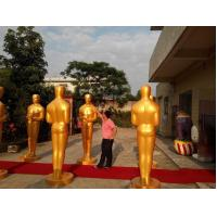 Buy cheap Event party decoration life size 90th Oscar statue/sculpture for sale with existing mold from wholesalers