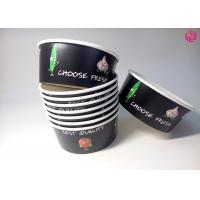 32oz Black Background Paper Salad Bowls Eco Friendly take out salad containers 44oz Manufactures