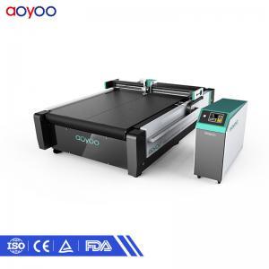 CNC oscillating knife paper carton sample honeycomb carton cutting machine for sale Manufactures