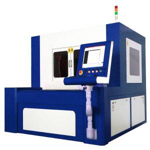 380V 50 / 60Hz Fiber Laser Cutting Machine For High Precise Metal Parts Manufactures