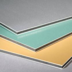 PE/PVDF aluminium composite panels Manufactures