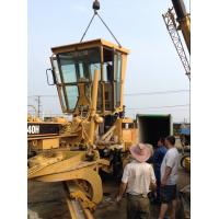 China Used CAT 140H Motor Grader Sold to Kenya Mombasa Port on sale