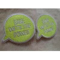 Quality Exquisite And Multicolor Personalised Embroidered Badges , Custom Embroidered Patches For Baby Clothes for sale