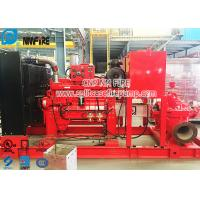 CCCF Standard Horizontal Centrifugal Split Case Fire Pump Set With Cummins Diesel Engine Manufactures
