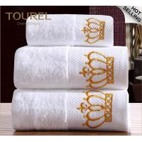 China 80x160cm Luxury Cotton Bath Towel Set for 5 Star Hotels And Spa on sale