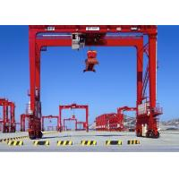 60 ton Double Girder Port Container Crane Rubber Tyre for Loading And Unloading Manufactures