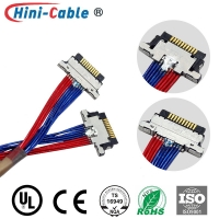 China I-PEX 20346-010T Male To Male 230mm PC Case Cable on sale
