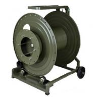 China Anti Corrosive Tactical Fiber Optic Cable Reel , Cable Storage Reel With Hole on sale