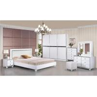 Turkish Moslem High Gloss Bedroom Furniture Wardrobes Khaki Color With 2.7 Meter Length Manufactures