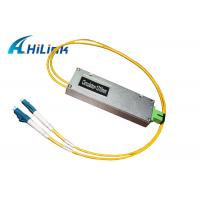 Low Back Reflection Optical Circulator 3 Ports Fiber Module With LC Connector Manufactures