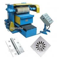 High Efficiency Automatic Metal Polishing Machine For Single Side Metal Sheet Manufactures