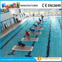 DWF Material Customized Water Toys Inflatable Water Floats Yoga Exercise Mats Manufactures