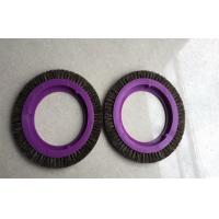 Plastic MONFORTS Stenter Brushes Professional Bristle Hair Brush Wheel Manufactures