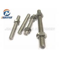 A4-50 A4-70 A4-80 316L 304 Stainless Steel Full Threaded Rod Stud Bar Manufactures
