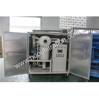 Famous Brand Transformer Oil Filtration Machine With Weather Proof Cabinet,Used Insulating Oil Refining Kit,degassing Manufactures