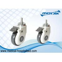Abs Body Attractive Performance Medical Casters Wheels For Home Care Beds Manufactures