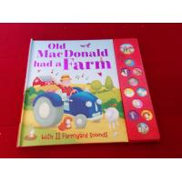 English Educational Coating Books That Make Sounds For Toddlers,children