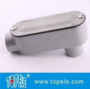LB Threaded Rigid Aluminum Conduit Body , EMT Conduit Body With Cover Manufactures