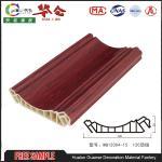 2017 Popular Hualun Guanse 120mm  Decorative PVC Wall Panels styrofoam ceiling tiles Manufactures