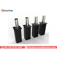 Collapsible Automatic Security Bollards , Retractable Automatic Bollard Systems Manufactures