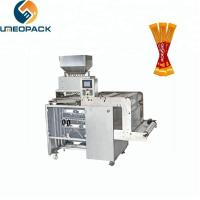 Multi lanes small candy packaging coffee stick sugar stick packing machine Manufactures