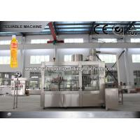 12000 BPH PET Bottle Hot Juice Filling Machine Washing Filling Capping 3 In 1 Monoblock Manufactures