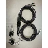 Armored tactical cable, Armored fiber cable, tactical patch cord, black PU Manufactures