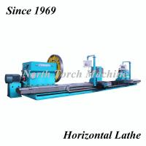 China Stable Heavy Duty Horizontal Lathe , High Precision Lathe Machine Energy Saving on sale