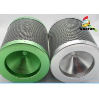 Quality Colorful Aluminum Flange Carbon 38mm Air Filter Cartridge With 38mm Carbon Bed for sale