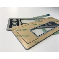 China IP65 waterproof metal dome membrane switches on sale