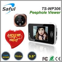 China 2014 newest 3.5'' touch screen 2.4GHz wireless digital door peephole viewer on sale