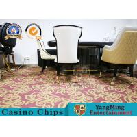 Star Hotel Restaurant Dining Table And Chairs Simple Backrest With Stainless Steel Metal Pulley Manufactures