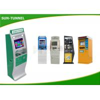 China Multi Functional Ticket Vending Kiosk , Lcd Touch Screen Kiosk Mobile Recharge Machine on sale