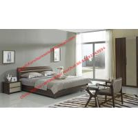 Quality Lift mechanism storage bed in classic wooden bedroom furniture for sale