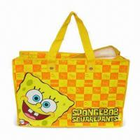 Promotional Carrier Bag with Zipper Closure, Available in Various Colors Manufactures