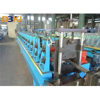 Gcr15 Steel Solar Frame Metal Forming Machine  Roll Former Machine With Full Automatic Cutting Manufactures